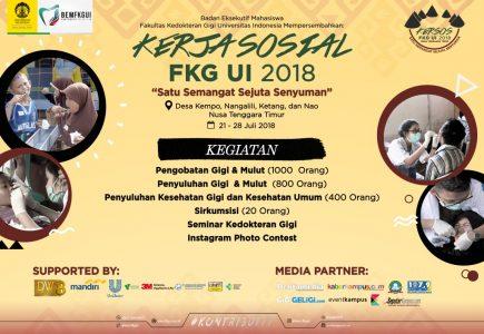 Kerja Sosial FKG UI 2018