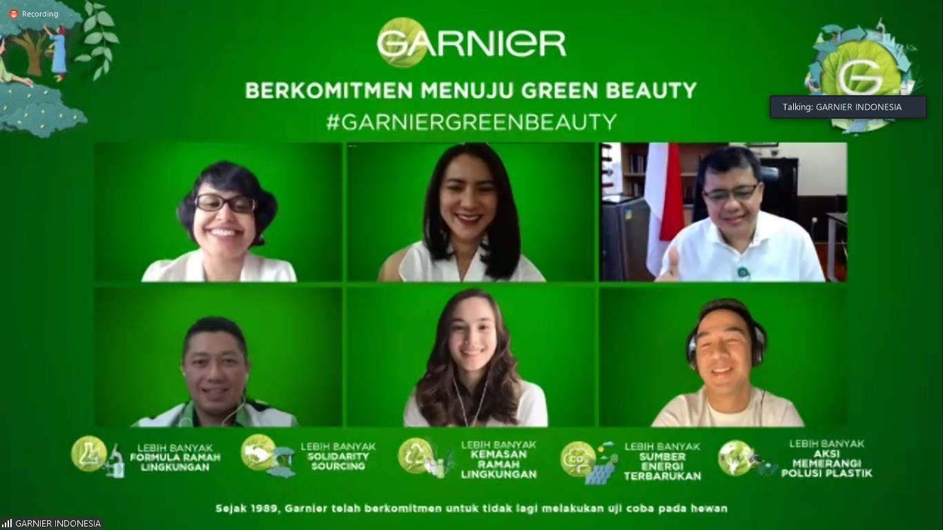 Transformasi Ambisius Garnier Menghadirkan Kecantikan Keberlanjutan