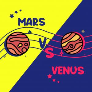 MARS VS VENUS